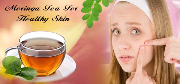 moringa tea for acne