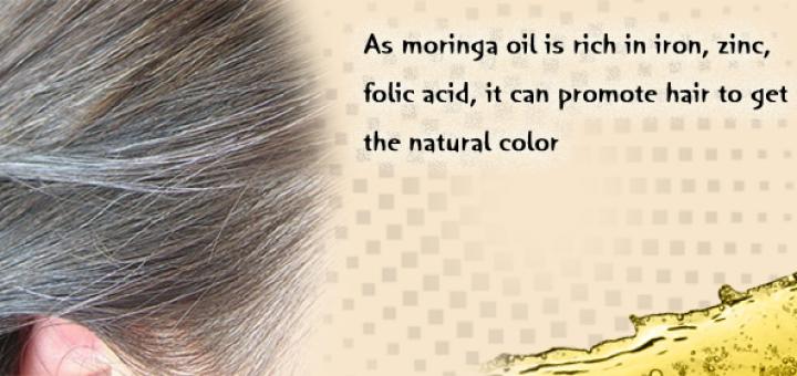 moringa for grey hair