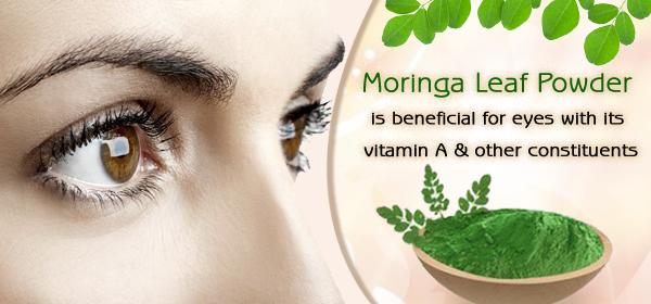 moringa for eyes