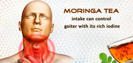moringa for goiter
