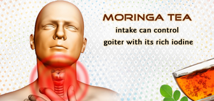 moringa for goiter