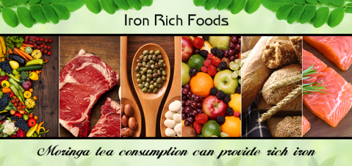 moringa for iron