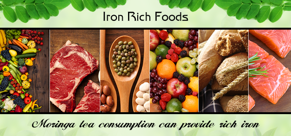 moringa for iron