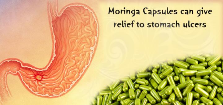 moringa for stomach ulcer
